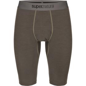 super.natural Base 175 Short Tights Men killer khaki/bamboo